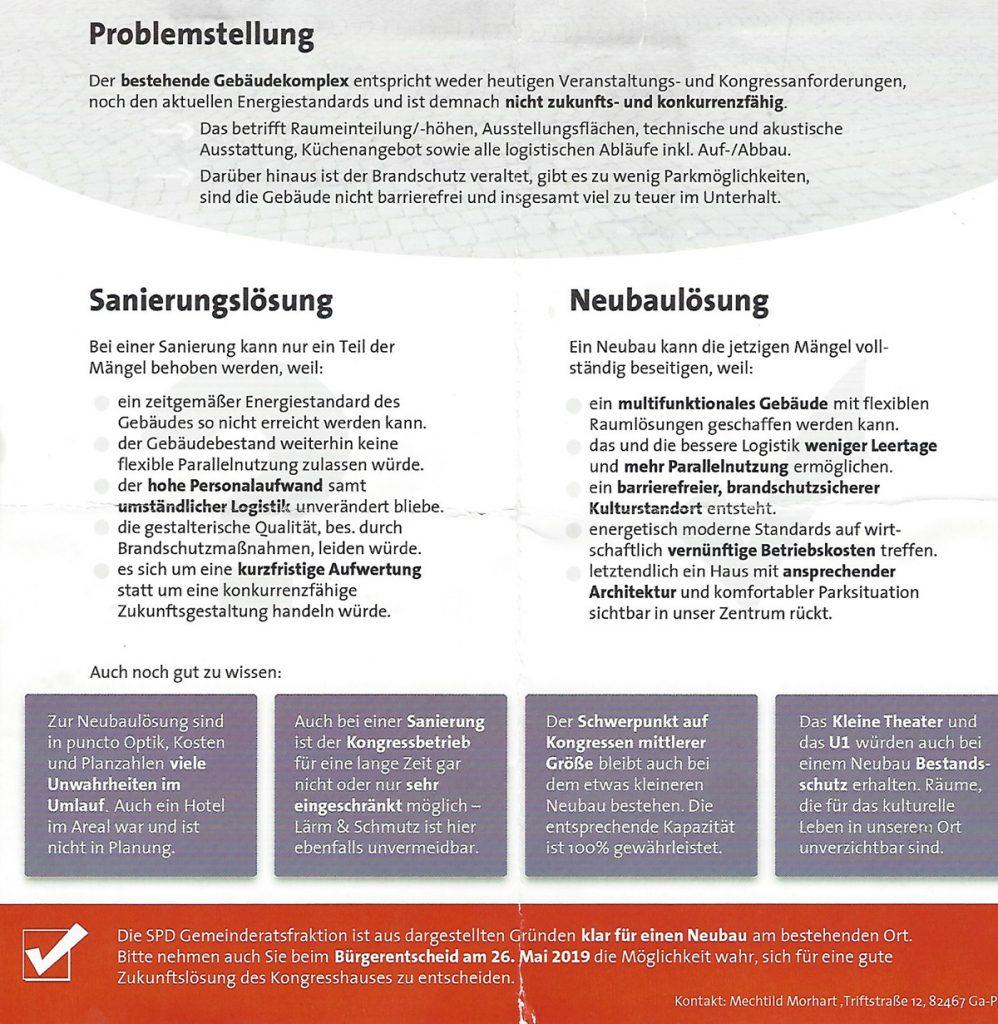 SPD-Flyer Rückseite